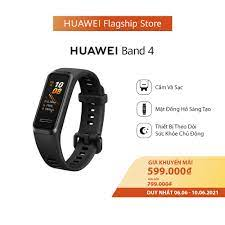 Vòng đeo tay thông minh huawei band 4 - thiết kế trẻ trung, trải nghiệm  hoàn hảo - mặt đồng hồ sáng tạo - sạc dễ dàng, dùng lâu hơn - phát