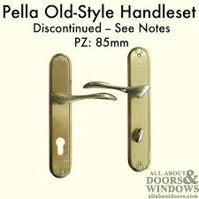 pella sliding door parts euro style handles discontinued see notes