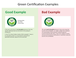 Ftc Sends Warning Letters About Green Certification Seals World