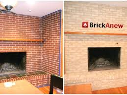 covering fireplace brick covering brick fireplace with reclaimed wood