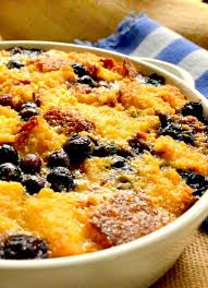 In a large bowl, combine cornbread, green bell pepper, onion, celery, and cheese. Cornbread Bread Pudding With Blueberries This Is How I Cook