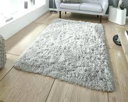 furry rug grey polar pl gy by think rugs large white for