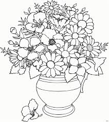 A Flower Coloring Page Beautiful Rose Flower Coloring Pages Cool