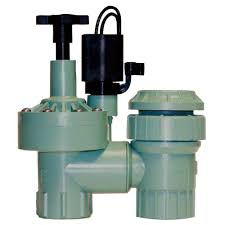 automatic sprinkler valve.  Valve Plastic FPT Automatic AntiSiphon Zone Valve To Sprinkler T