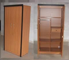 jose industries wooden 2 door wardrobe