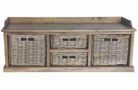 rattan storage bench. Plain Storage And Rattan Storage Bench A