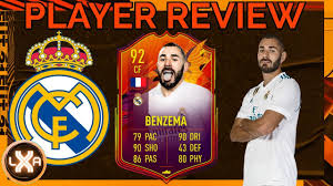 Wie spielt er sich❓ KARIM BENZEMA 92 HEADLINERS - Player Review | FIFA 21  Ultimate Team - YouTube