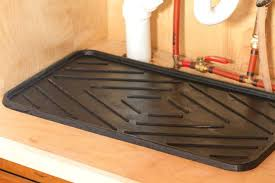 under the sink drip tray for washing hair kitchen pan