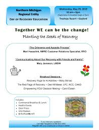 Michigan Registration Fee Chart Day Of Recovery Education May 29th Northern Michigan