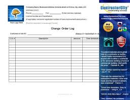 Delivery Order Sample Awesome Change Order Template Engineering Change Order Template Re Form