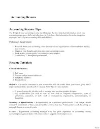 Accounting Skills Resume Resume Online Builder