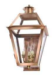 charleston collection ch 22 bronze lantern gas wall mount lantern copper lantern gas flame lantern