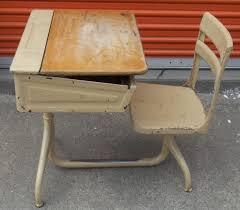 Image of: Student Desk Vintage