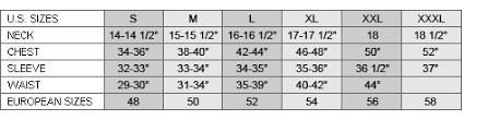 Ermenegildo Zegna Size Guide