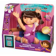 fantastic gymnastics. dora the explorer fantastic gymnastics doll c