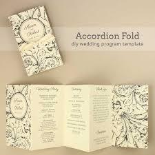 Printable Wedding Program Templates Free Wedding Program Templates You Can Customize