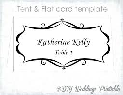 Template For Place Cards Free Thanksgiving Place Cards Template Playsquare