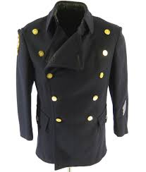 this is an authentic vintage 60s new york police department peacoat