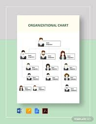 Organizational Chart Template Free Download Organizational Chart Template 19 Free Word Excel Pdf