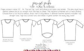 Paige Piko Top Tunic Dress Free Womens Sewing Patterns