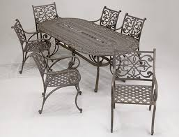 cast iron patio table wrought iron dining