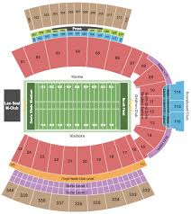 Davis Wade Stadium Scott Field Seating Chart Mississippi State