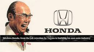 Soichiro Honda Soichiro Honda From The Job Rejection By Toyota To Building His Own