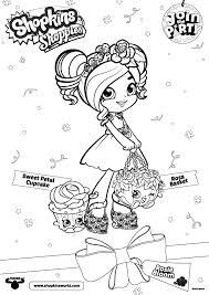 Coloring Pages Shopkins Shoppies The Best Coloring Pages