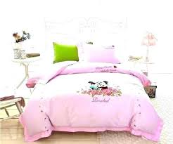 Minnie Mouse Bedroom Set Full Size Sheets Mickey And Bedding – Ekureci