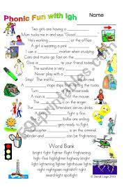 Found worksheet you are looking for? 3 Magic Pages Of Phonic Fun With Igh Worksheet Dialogue And Key 26 Esl Worksheet By David Lisgo