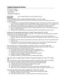 Graduate School Resume Examples | Resume Examples And Free Resume