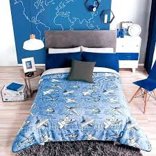 airplane comforter bedding set for boy reversible guarantee boys free vintage sets