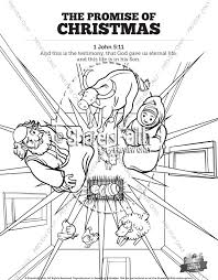 These skills form the foundation for early learning success. The Promise Of Christmas Sunday School Coloring Pages Sunday School Coloring Pages