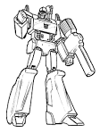 Раскраска для мальчиков распечатать роботы