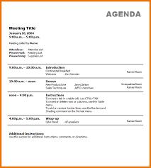 Work Meeting Agenda Business Agenda Template Zaloy Carpentersdaughter Co