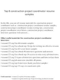 Entry Level Construction Resumes Construction Worker Resume Samples Resumes For Excavators