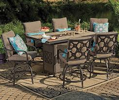 i found a wilson fisher stoneridge high top patio dining high top patio furniture costco