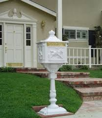 locking residential mailboxes. Victorian Pedestal Residential Locking Mailbox Locking Residential Mailboxes