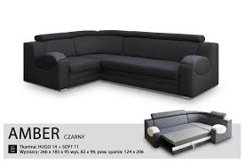 leather sofa bed for sale. UNIVERSAL HAND CORNER SOFA BED - AMBER BLACK- FABRIC \u0026 FAUX LEATHER 266x185CM (266 CM, BLACK): Amazon.co.uk: Kitchen Home Leather Sofa Bed For Sale