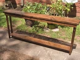 72 inch rustic console table extra