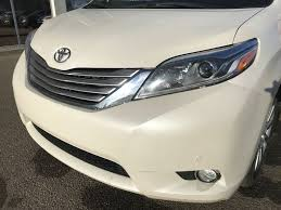 Used 2015 Toyota Sienna LIMITED AWD, Brown Leather Interior 4 Door ...