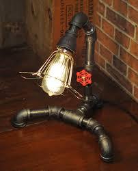 industrial pipe lighting. View In Gallery Plumbing-pipe-lighting-fixtures-romantic-industrial-6.jpg Industrial Pipe Lighting