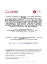 Pell Chart 1718 Aha Statistical Update Circulation