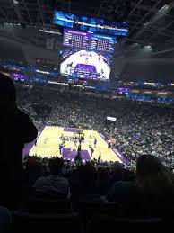 Golden 1 Center Basketball Seating Chart Golden 1 Center Section 114 Home Of Sacramento Kings