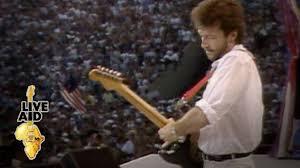 <b>Eric Clapton</b> - Layla (<b>Live</b> Aid 1985) - YouTube