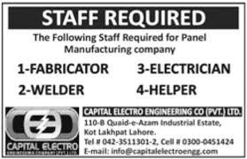 Welder Helper Job Description Fabricator Electrician Welder Helper Jobs In Capital