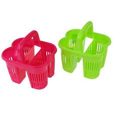 <b>Сушилка для столовых приборов</b> с ручкой, 4 секции, пластик ...