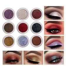 HANDAIYAN Fashion Glitter Eyeshadow Shimmer Soft The ...