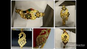 Bracelet Noa Design Latest Bengali Traditional Light Weight Gold Noa Designs