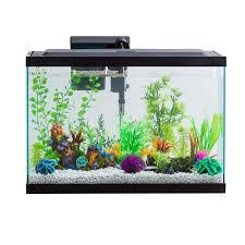 29 Gallon Tank Light Details About Aquarium Fish Tank Starter Kit Tank W Led Light And Filter System 29 Gallon